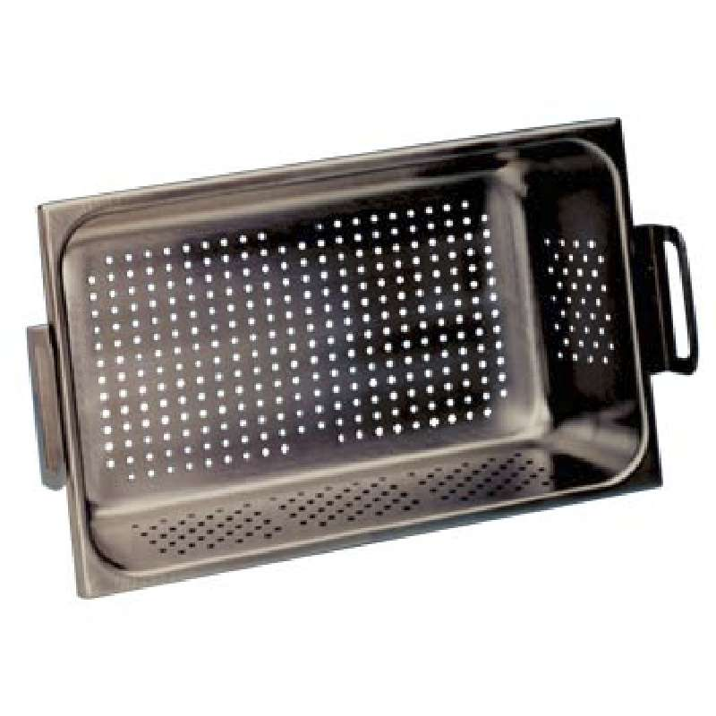 """Perforated Tray, 10 x 7.5 x 6"""", for use with M5800, CPX5800 and B5510 Cleaners"""