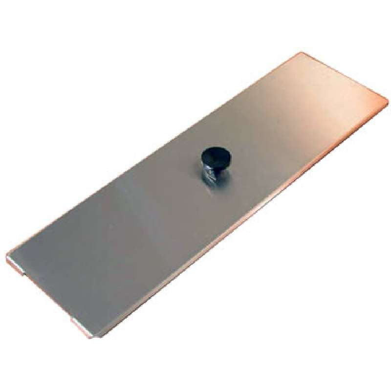 "Stainless Steel Cover, 21 x 6-1/2 x 1/2"", for Use with PC620 2.75 Gallon Cleaner Tank"