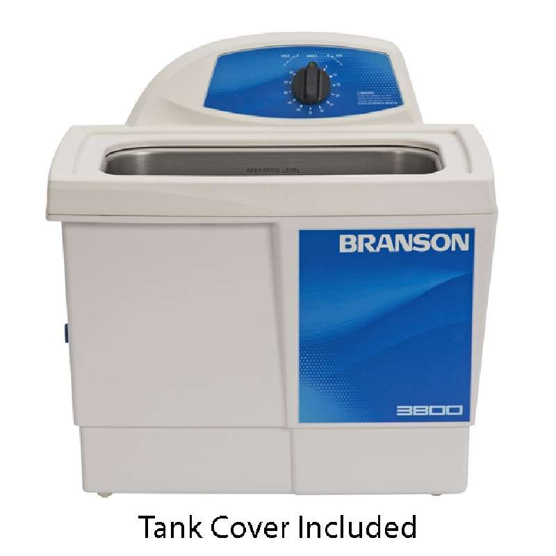 M3800 Ultrasonic Cleaner with Mechanical Timer and Tank Capacity of 1-1/2 Gallons