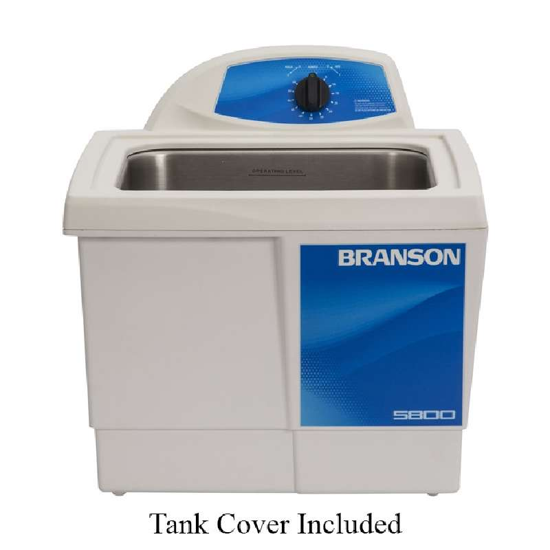 M5800 Ultrasonic Cleaner with Mechanical Timer and Tank Capacity of 2-1/2 Gallons