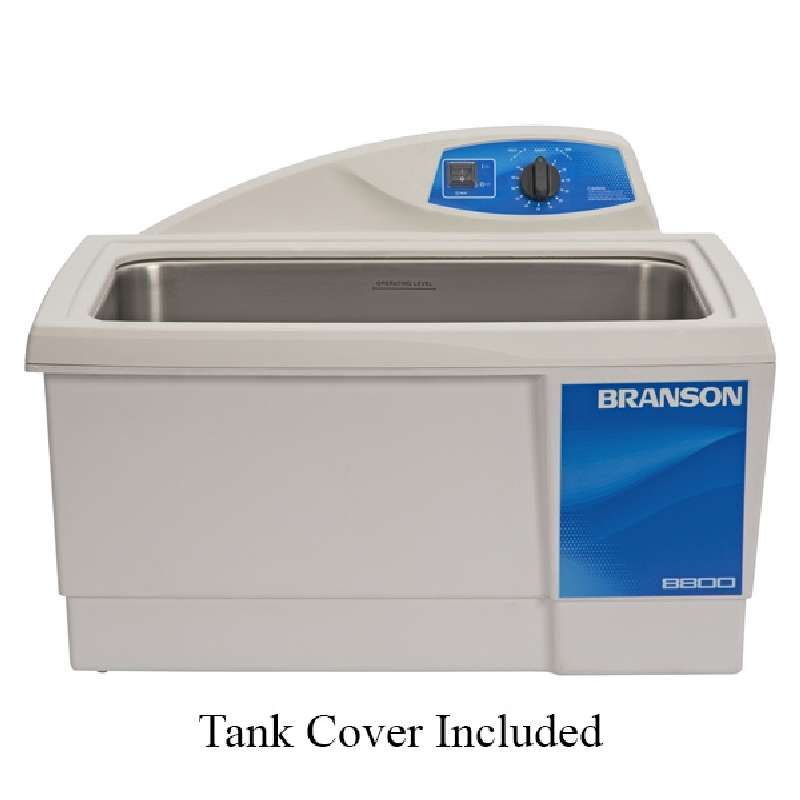 M8800H Ultrasonic Cleaner with Mechanical Timer and Heated Tank, Capacity of 5.5 Gallons