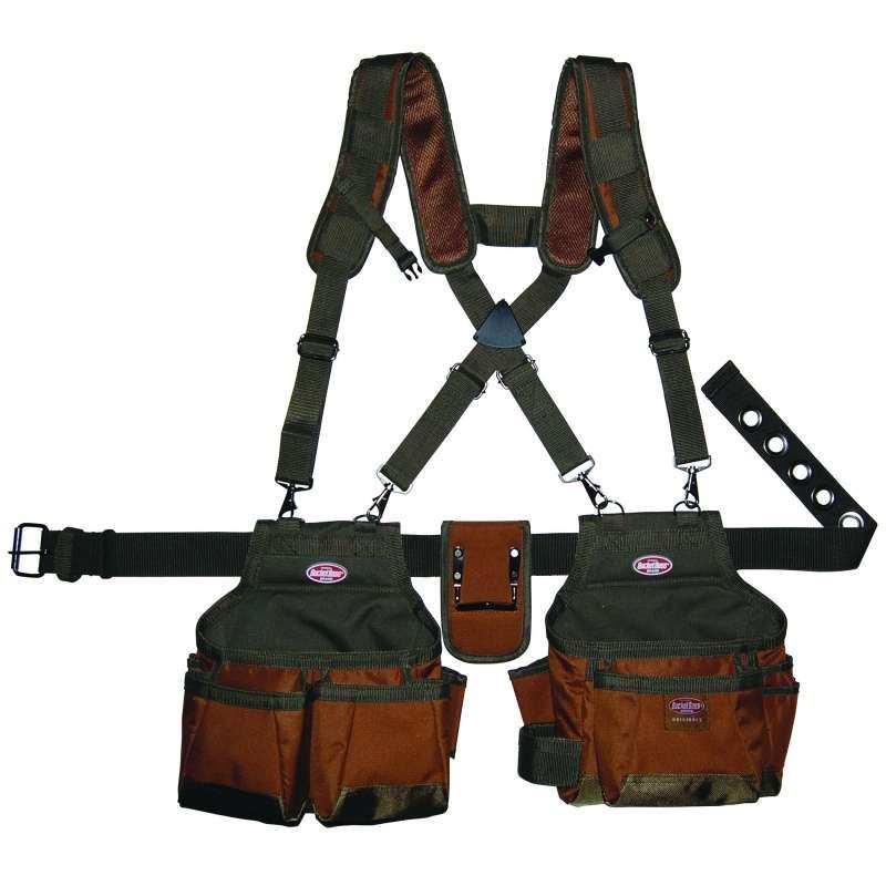 """Airlift Suspension Rig"" Tool Belt with Shoulder Harness"