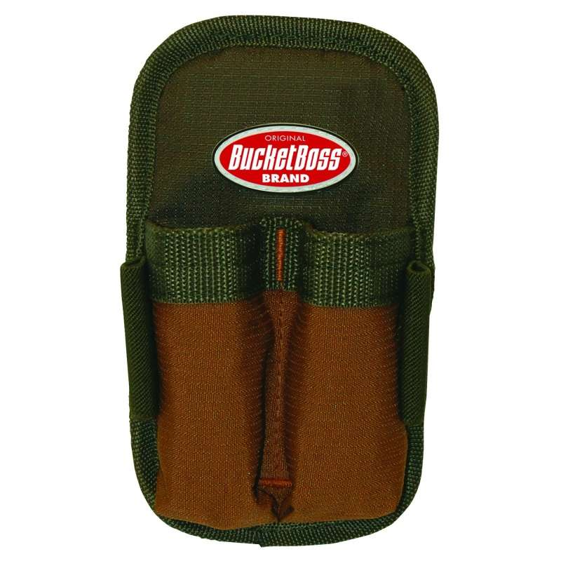 "Double Barrel™ Tool Sheath with 4-1/4"" Deep Pockets and Elastic Loops"