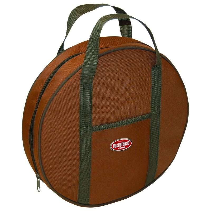 "Jumper Cable Bag with One Outside Pocket, 14"" Diameter"
