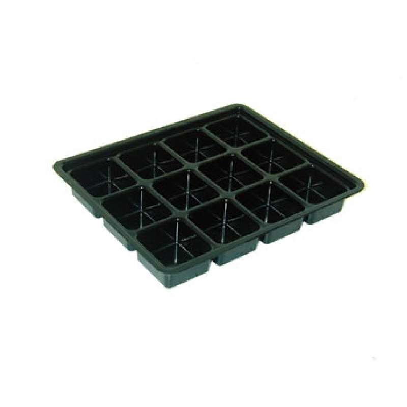 Conductive Kitting Tray with 12 Compartments, 10-1/2 x 8-3/4 x 1-1/2