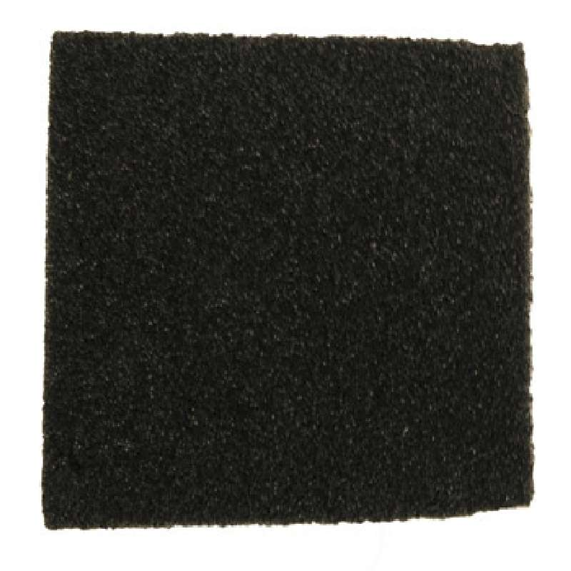 Dissipative Polyurethane Black Soft Foam, 1/2 x 24 x 36""