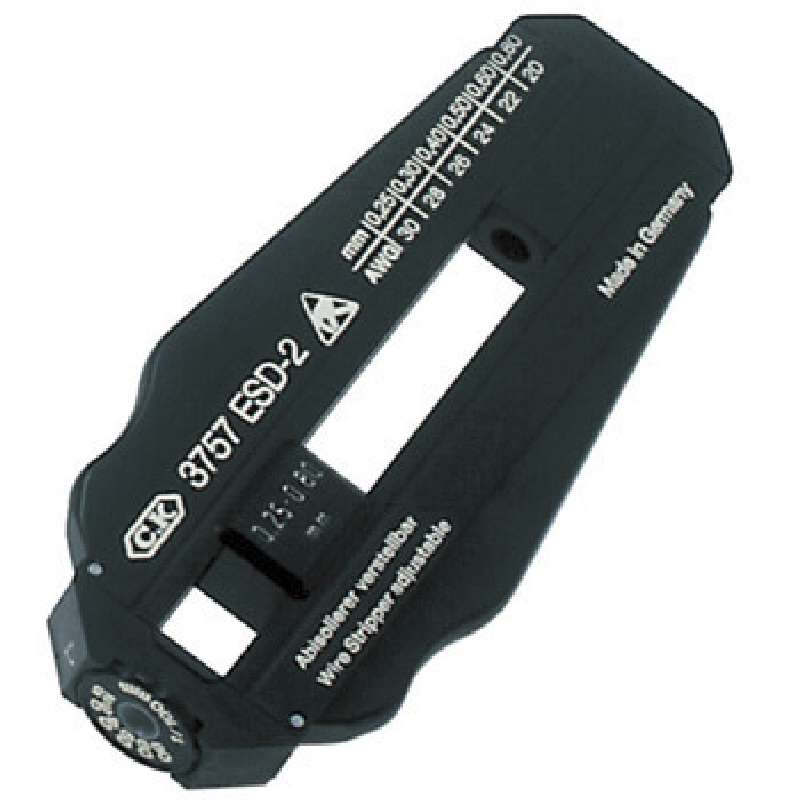 Precision Adjustable ESD-Safe Wire Stripper for 30-20 AWG
