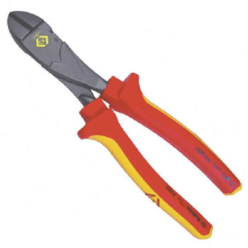 RedLine™ Insulated VDE Heavy Duty Side Cutter, 8""
