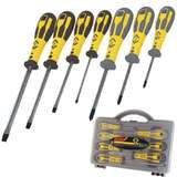 Dextro® Slotted and Phillips Screwdriver Set, 7 Piece