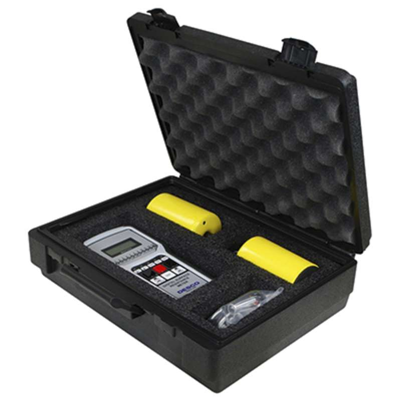 Digital Surface Resistance Test Kit with Two 5lb Weights, Leads, and Carrying Case, NIST Certified