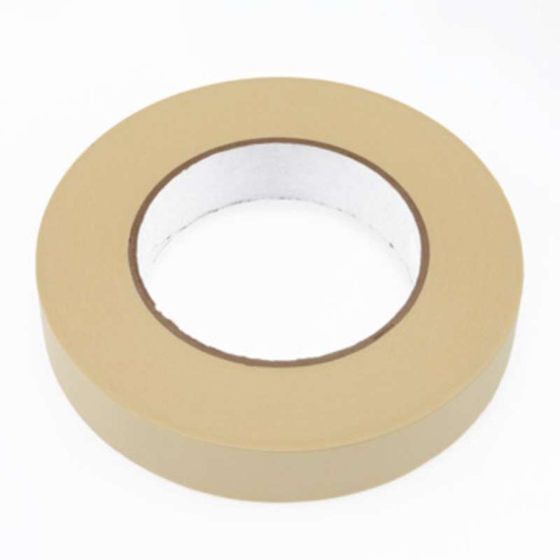 "Low Static Hi-Temp Masking Tape, 1"" x 60yd on a 3"" Core, 325° F"