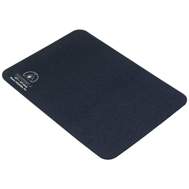 "Statfree J™ Homogenous Dissipative Shock Resistant Foam Black Rubber Roll, 24"" x 40' x .125"" Thick"