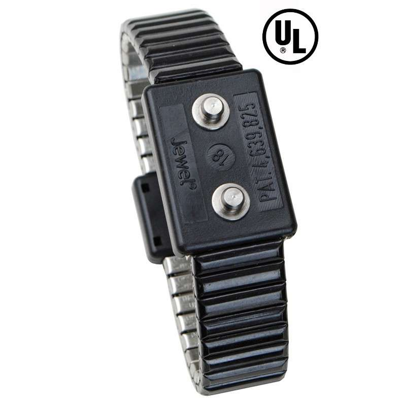 Jewel wristband metal dual, 4mm, SML