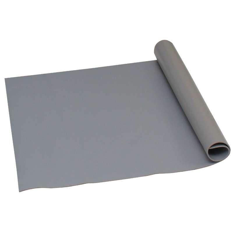 """Statfree Z2™ 3-Layer Dissipative Vinyl Mat Roll, Grey, 24"""" x 50' x .125"""""""