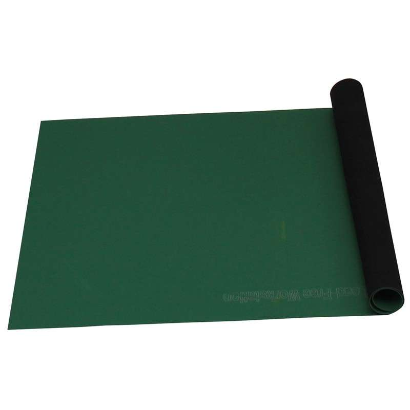Statfree T2 2 Layer Diss Cond Rubber Worktop Mat Roll