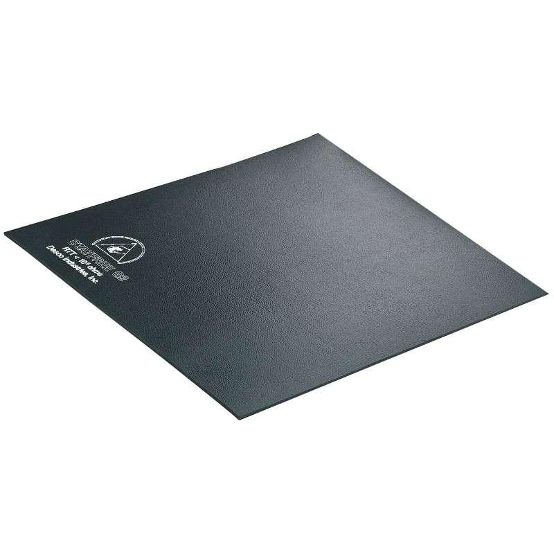 "Statfree G2™ Single Layer Conductive Rubber Floor Mat, Black, 48 x 72 x .060"""