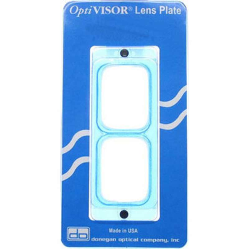 OptiVISOR® Lens Plate, 2-1/2X Magnification, for Use with the OptiVisor® Headband Magnifier