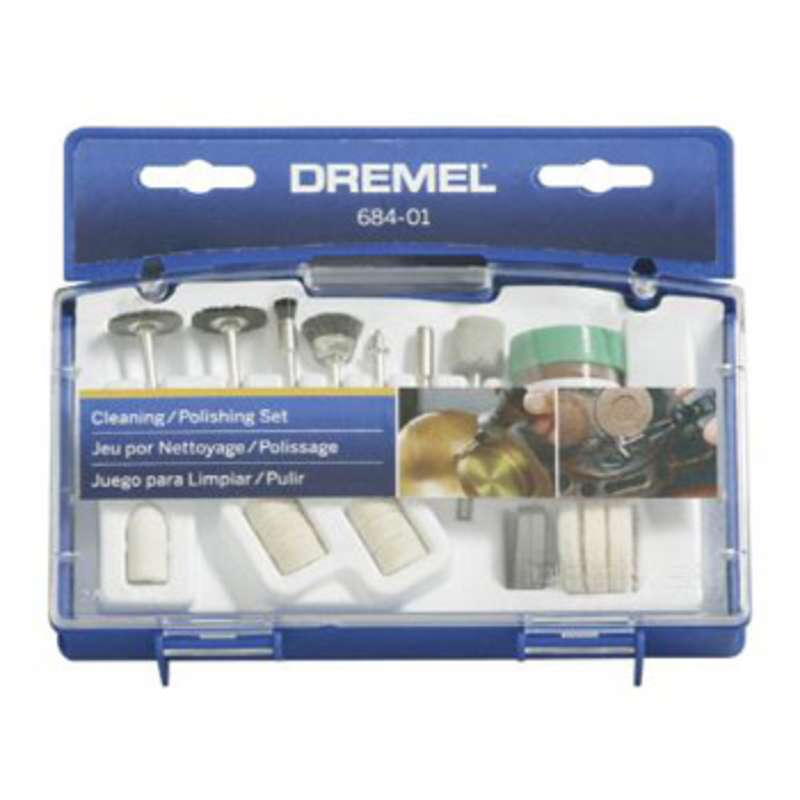 Cleaning and Polishing 20 Piece Accessory Kit for Dremel Rotary Tools