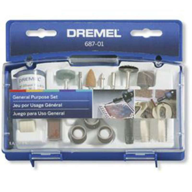 General Purpose 52 Piece Accessory Kit for Dremel Rotary Tools