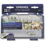 Carving and Engraving 11 Piece Mini Accessory Kit for Dremel Rotary Tools