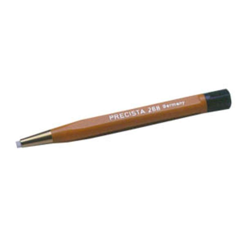 """Brush - Nylon - Two Star 4.75"""" Plastic Handled Retractable and Refillable Scratch- 3/8"""" diameter"""