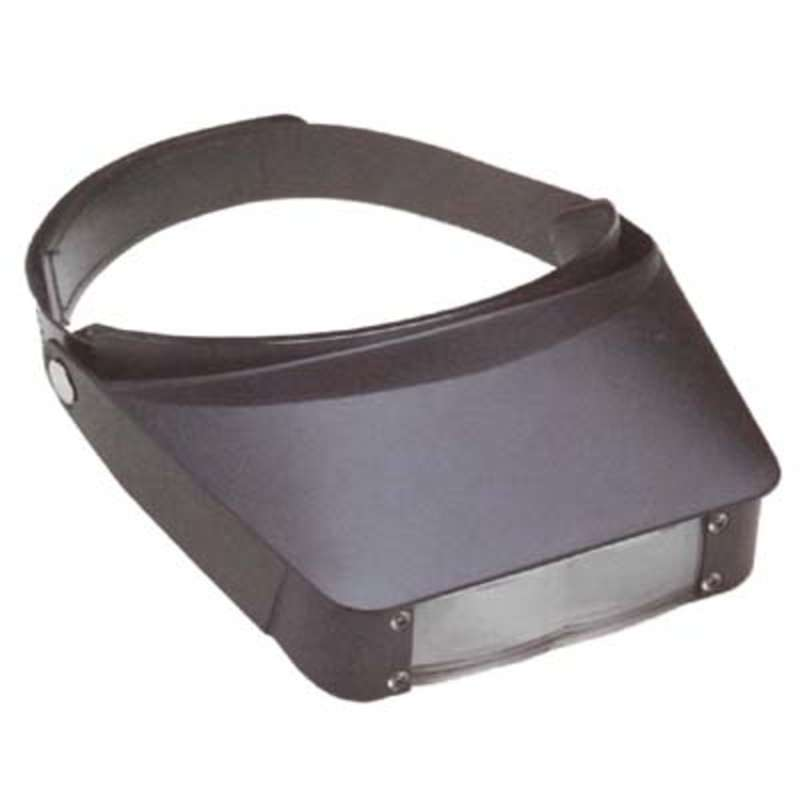 Excelta Adjustable Headband Magnifying Super Visor with 2.2X Magnification