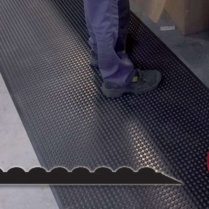 ESD Safe AB Classic Ergonomic Polyurethane Anti Fatigue Floor Mat With  Bubble Top, Charcoal, ...