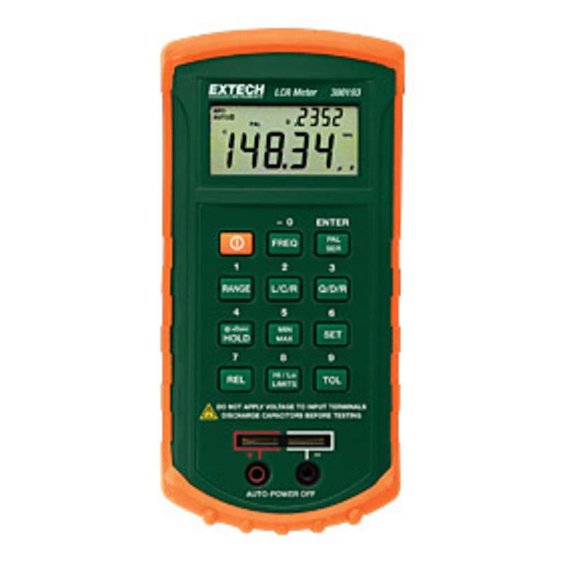 Passive Component LCR Meter with Primary and Secondary Parameters