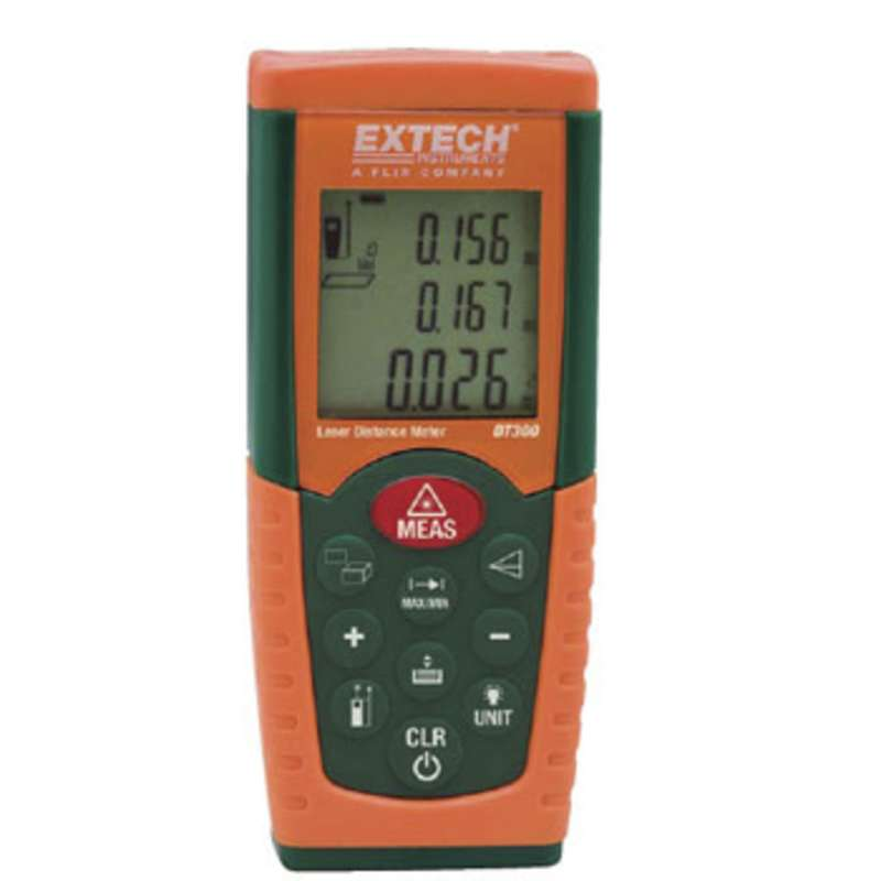 "Laser Distance Meter from 2"" to 164' with 0.06"" Accuracy"
