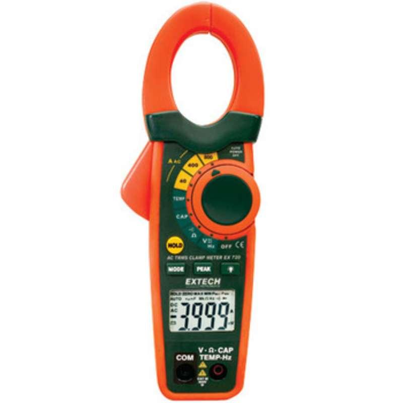 Clamp Meter Accessories : Clamp meter dmm ac true rms a nist certified