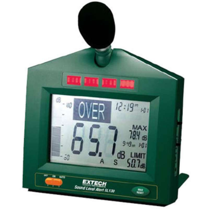 Sound Level Meter 30 to 130dB with LED Indicators