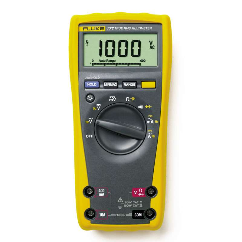 Digital True RMS MULTIMETER with Backlight and Multi-Language User Manual (ENG, SP, FR, POR)