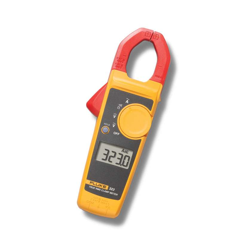True-RMS Clamp Meter for Current Measurements up to 400A