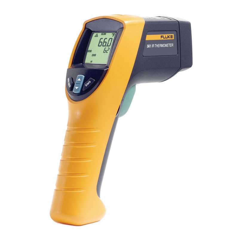 Infrared and Contact Thermometer with K-type Thermocouple capability
