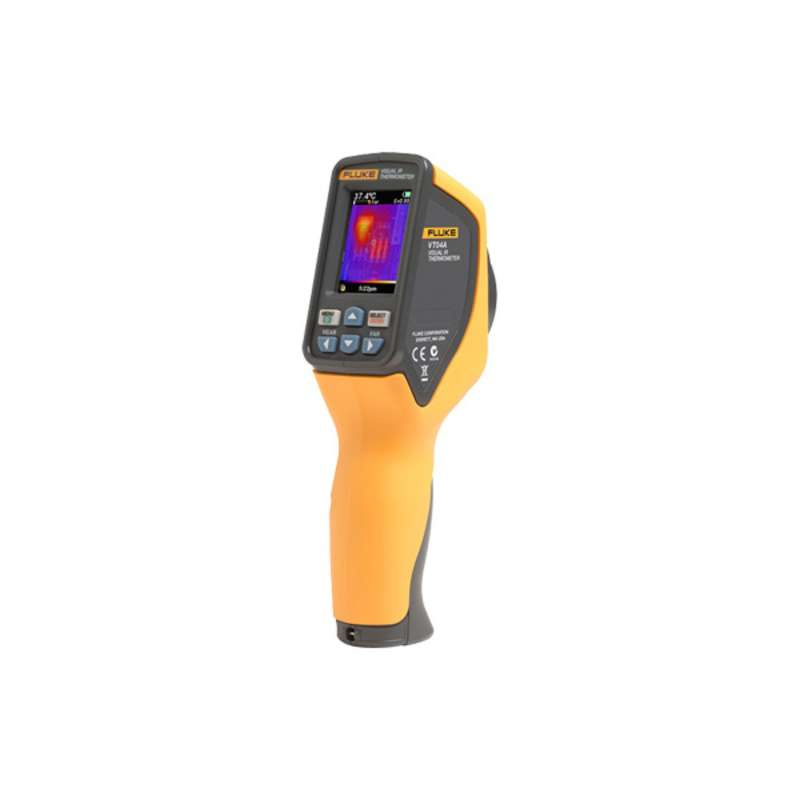 VT04 Visual IR Thermometer with Built-in Digital Camera with an Infrared Heat Map Overlay