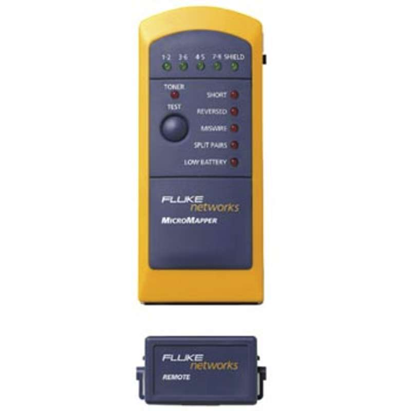 MicroMapper™ VDV Wiremap Tester with Split Pair Detection
