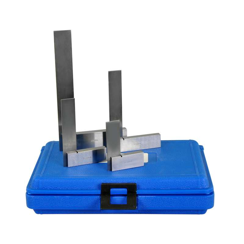 "Hardened Steel square set, 2"", 3"", 4"" and 6"""