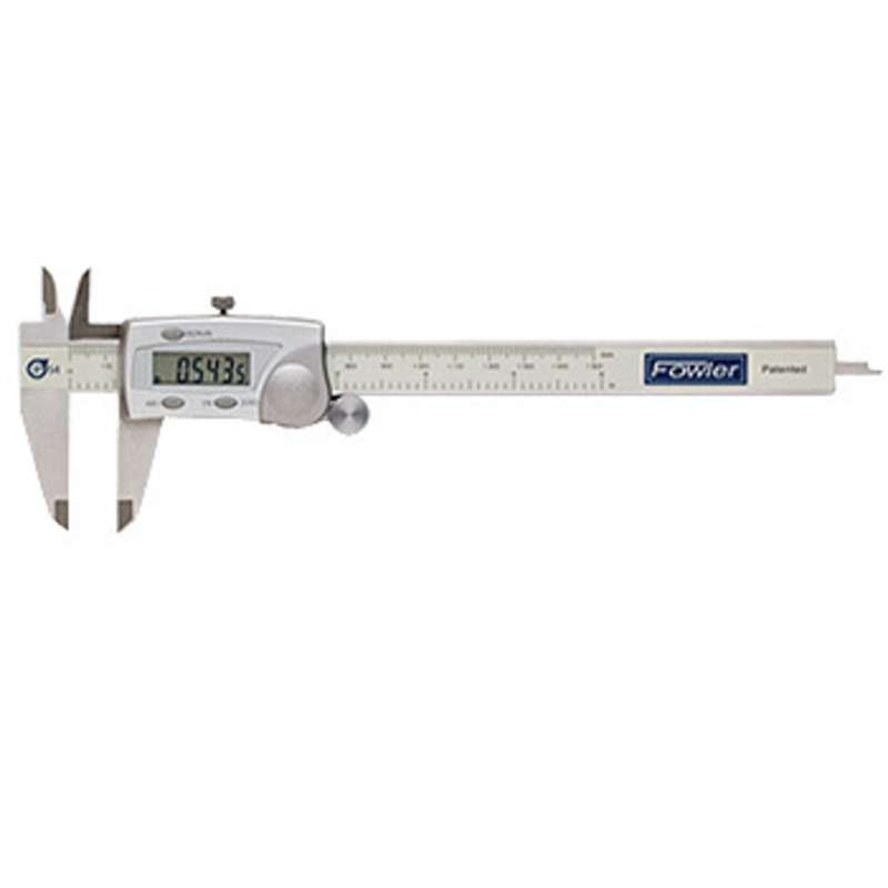 "IP54 Water Resistant Electronic Caliper with 4-Way Measuring and 0-6"" Range"