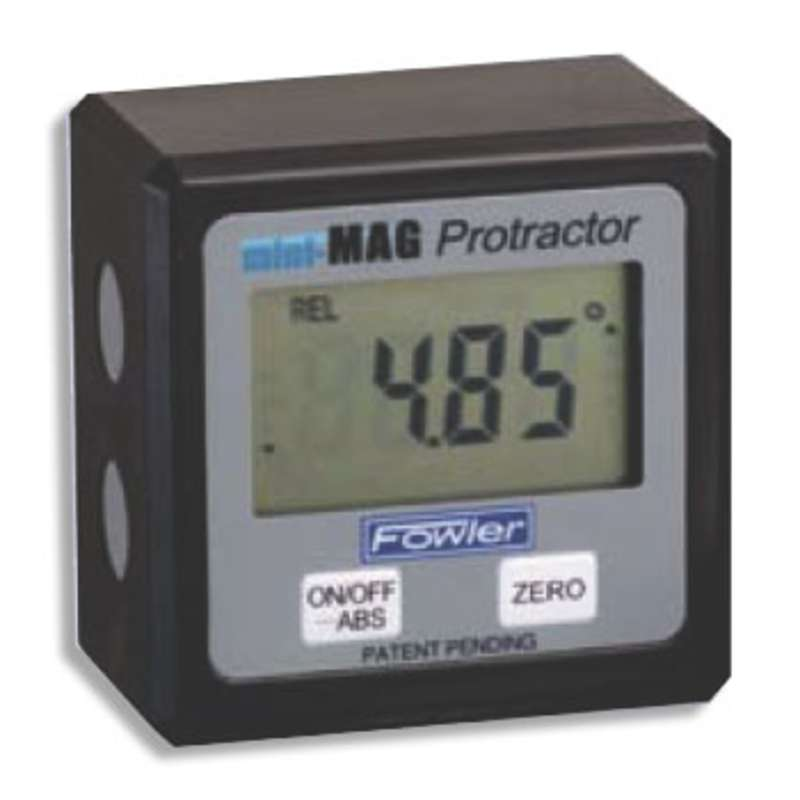 Mini-Mag Protractor Level with Instant 360° Inclination Display