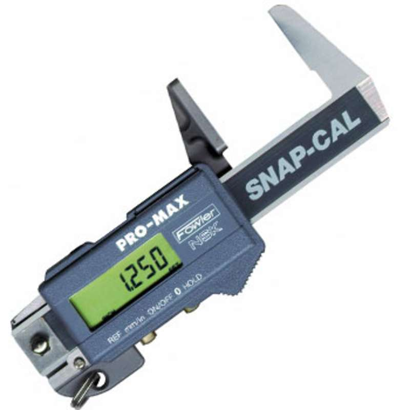 "Snap-Cal Hardened Stainless Steel Electronic Caliper with Large LCD Display and 0-1.25"" Range"