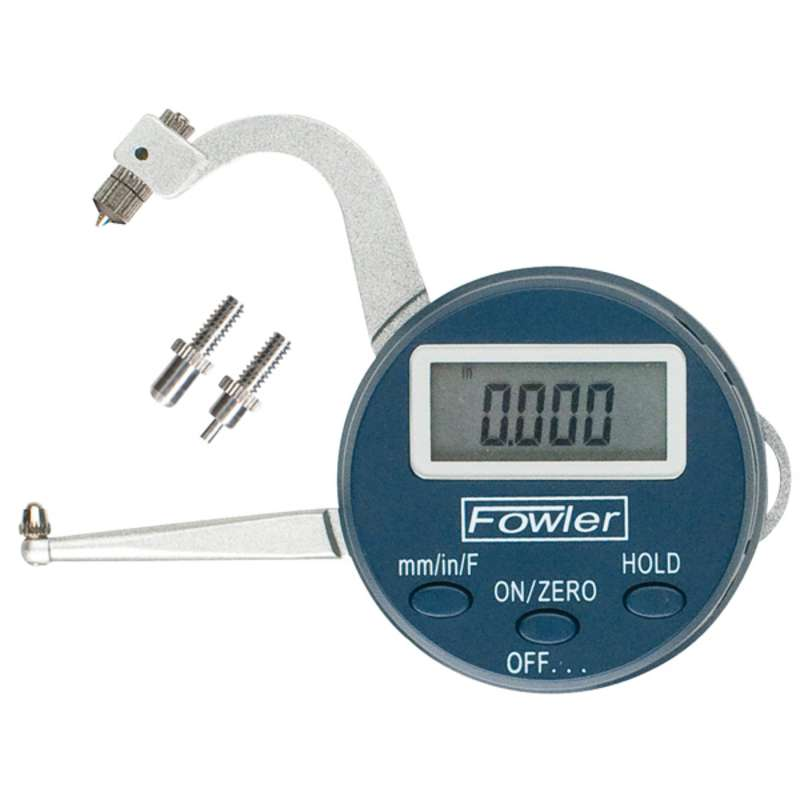 "Xtra-Value Digital Thickness Gage, 0-1""/25mm Range"