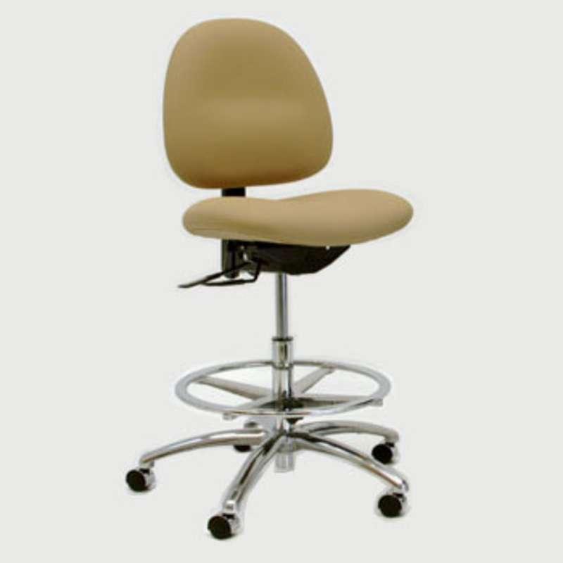 Pleasing Gibo Kodama 3000 Series Esd Bench Chair Adj 22 29 5 Vinyl Ocoug Best Dining Table And Chair Ideas Images Ocougorg