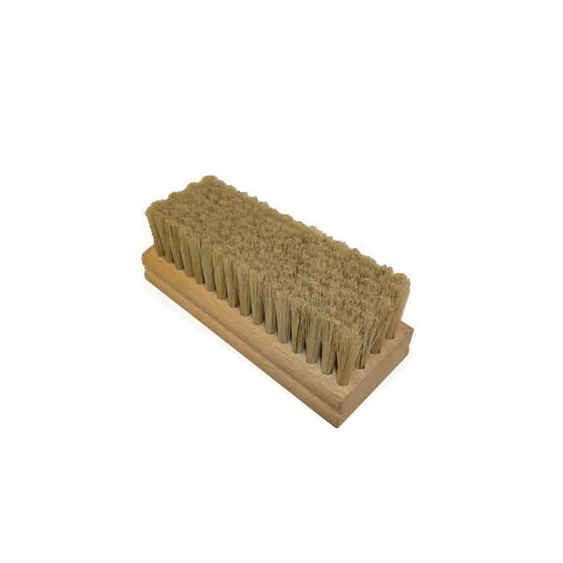 Horse Hair Hand Scrub Block Brush, 4.5 x 1.75""