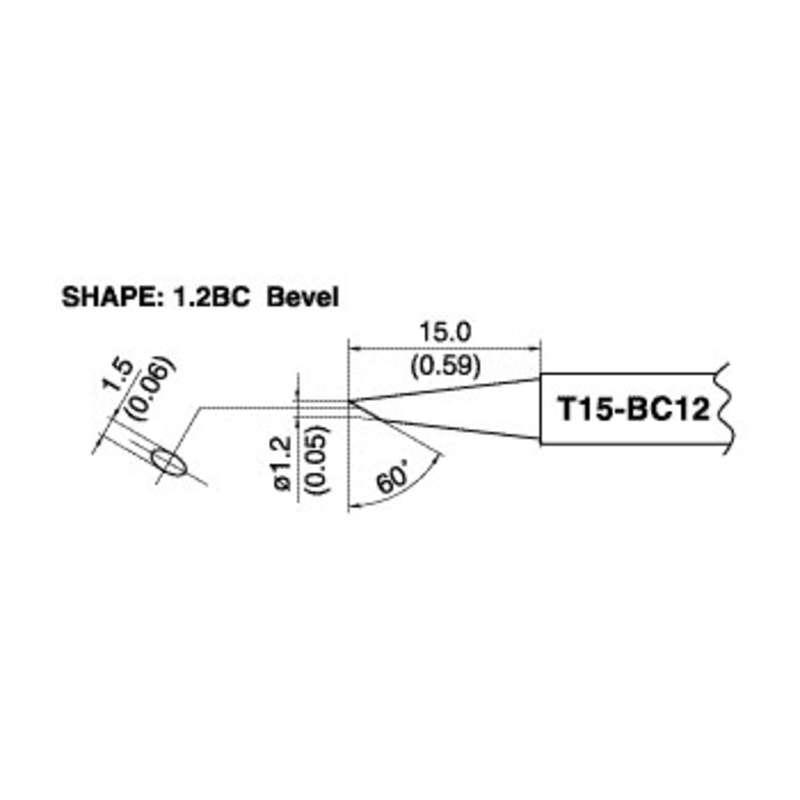 Hakko T15-BC12