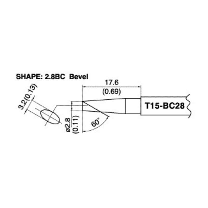 Hakko T15-BC28