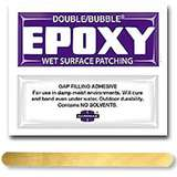Double/Bubble® Purple Wet Surface Patching Epoxy Adhesive, 100 Packs per Carton