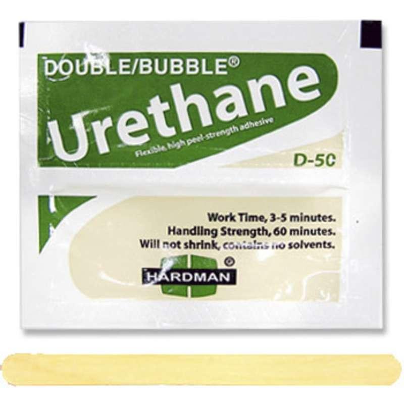 Double/Bubble® Semi-Flexible High Shear Strength Urethane Adhesive, 100 Packs per Carton