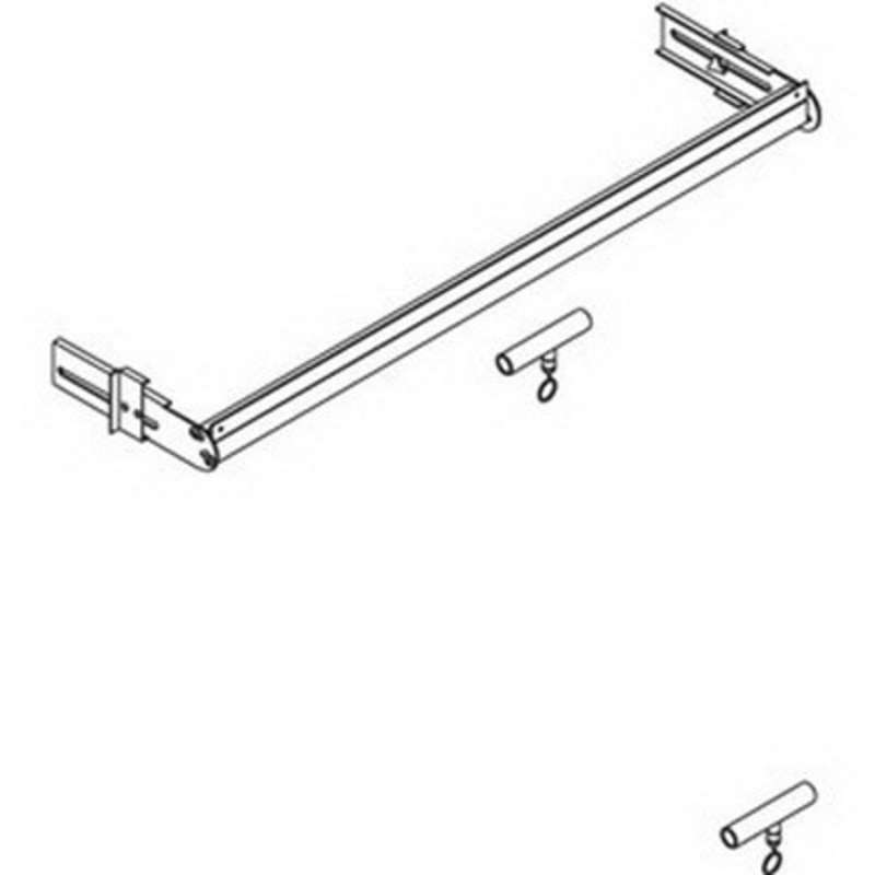 "MTS Tool Trolley Assembly 72"" for Use with Econo Light"