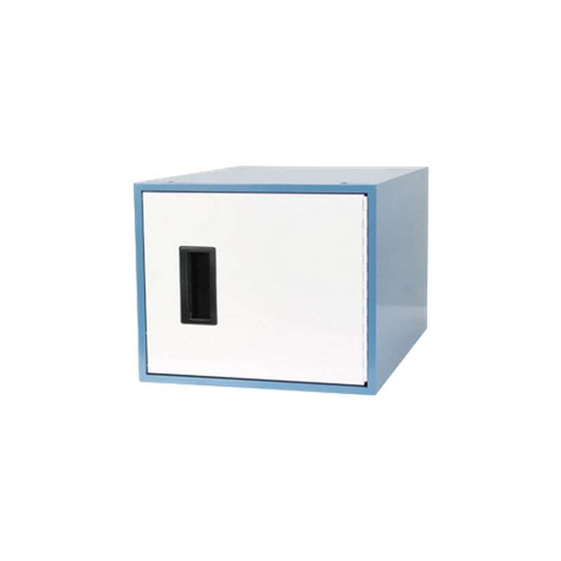 "Workmaster™ Quick Ship 12"" Locker, Right Hand, EZE Blue"