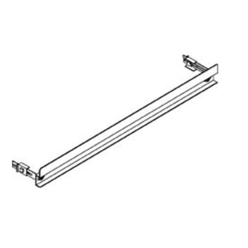 """Dim4 Quick Ship ESD-Safe Adjustable Bin Rail Assembly with Ground Cord, 60"""" (Bins Not Included)"""
